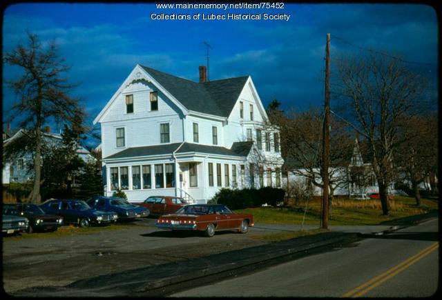 McCurdy House, Lubec, 1975