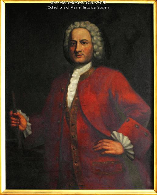 Sir William Pepperrell portrait, 1907