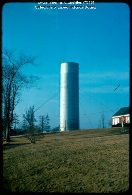 Standpipe, Lubec, 1975