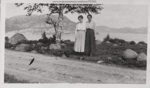 Annah Butler Richardson and Emily, Norway, ca. 1917