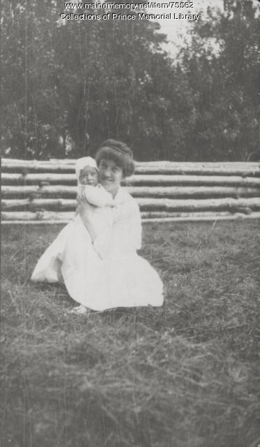 Annah Butler Richardson and Albert, Russia, ca. 1916