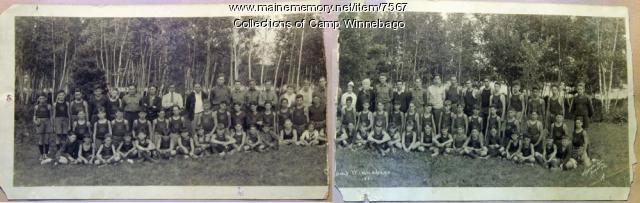 Campers at Camp Winnebago, 1921
