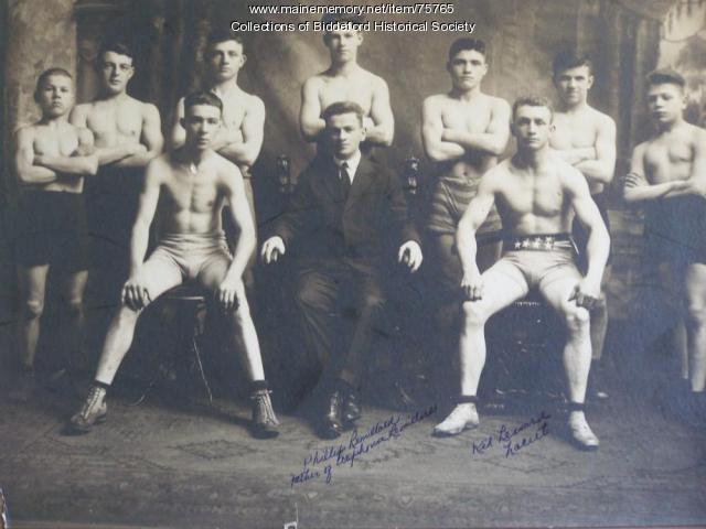 Biddeford Boxers, Biddeford, ca. 1930