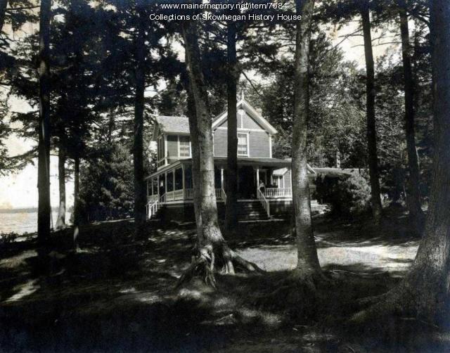 Frank Swan's Summer Camp Ca. 1905