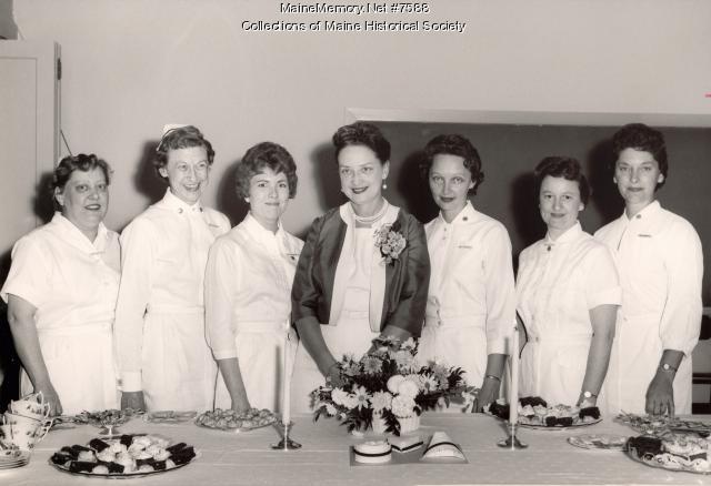Maine Medical Center tea, Portland, 1963
