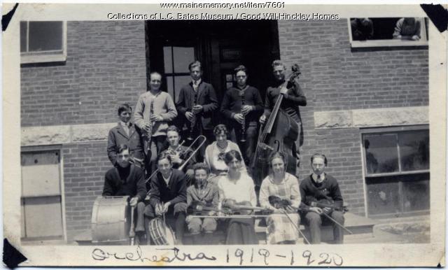 Good Will School Orchestra, Fairfield, 1920