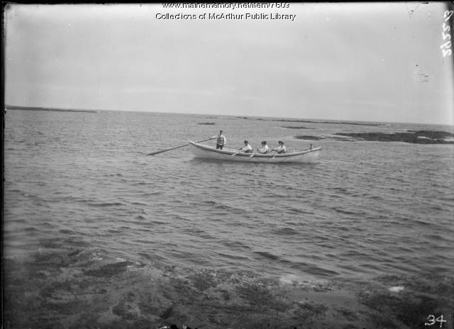 Biddeford Pool Life Savers, ca. 1910