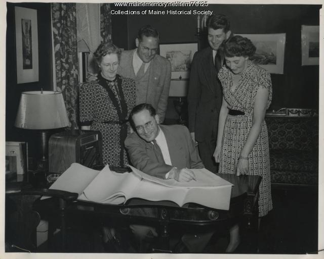 Election Night, 1946