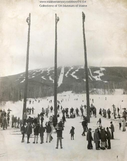 Flagpoles, 1971 Sugarloaf World Cup Ski Races