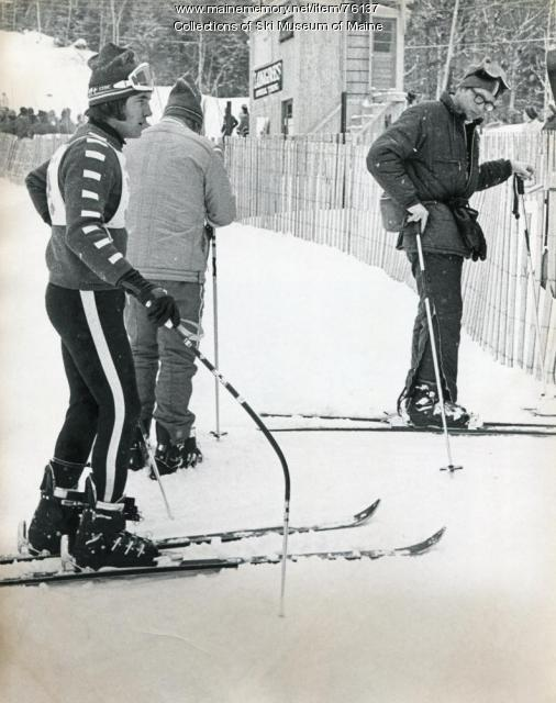 Finish mishap at the Sugarloaf Wold Cup, 1971