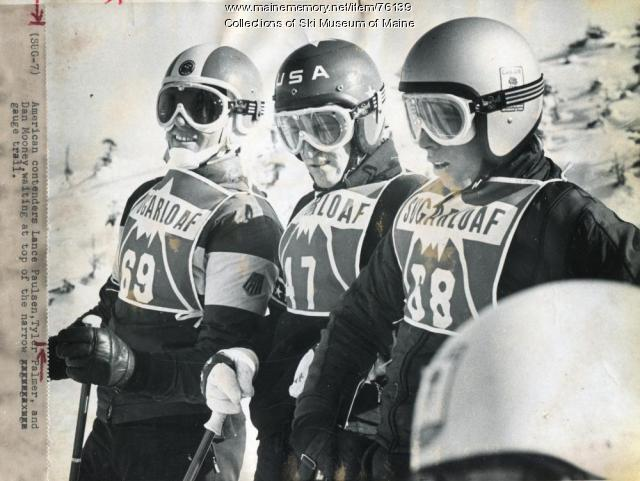 US racers at the Sugarloaf World Cup, 1971