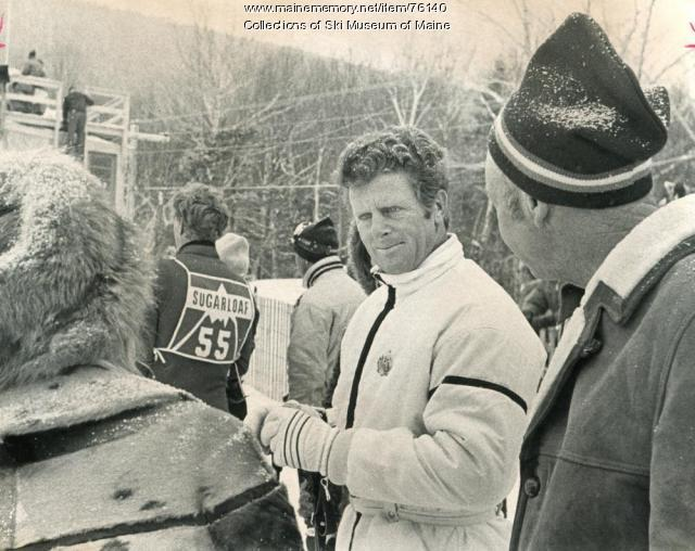 Ski racing legend, Sugarloaf world Cup, 1971