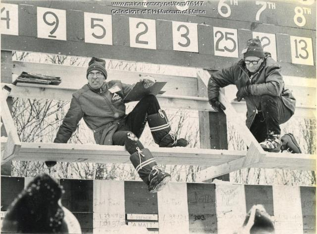 Scorekeepers, Sugarloaf World Cup, Sugarloaf, 1971