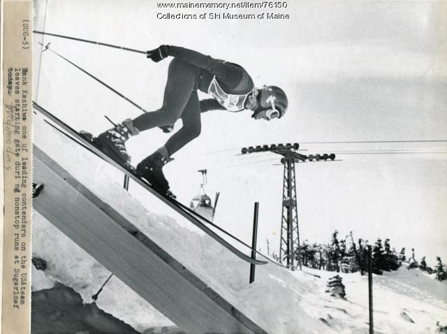 Hank Kashiwa, Carrabassett Valley, 1971