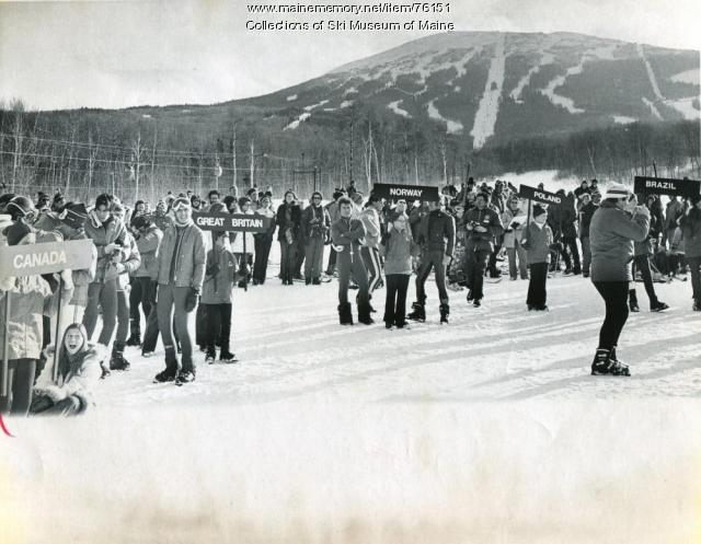 1971 World Cup Parade of Nations, Carrabassett Valley