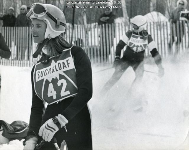 Women's downhill at the Sugarloaf World Cup, 1971