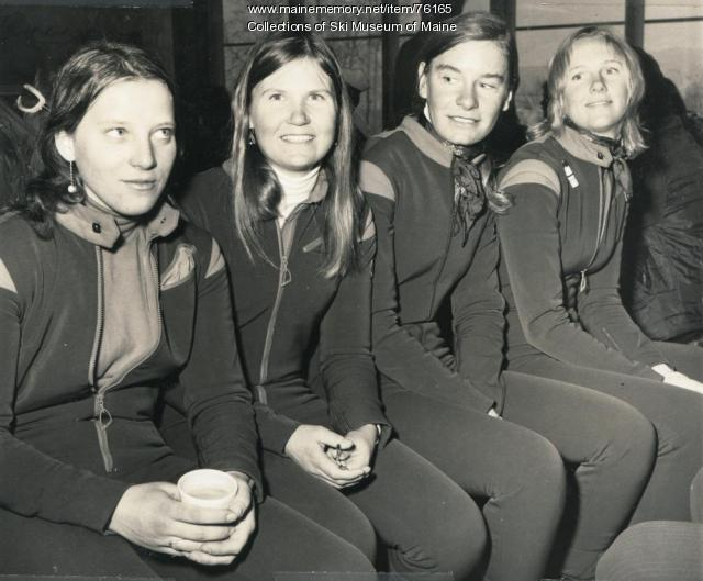 Women's US Ski Team, Sugarloaf, 1971