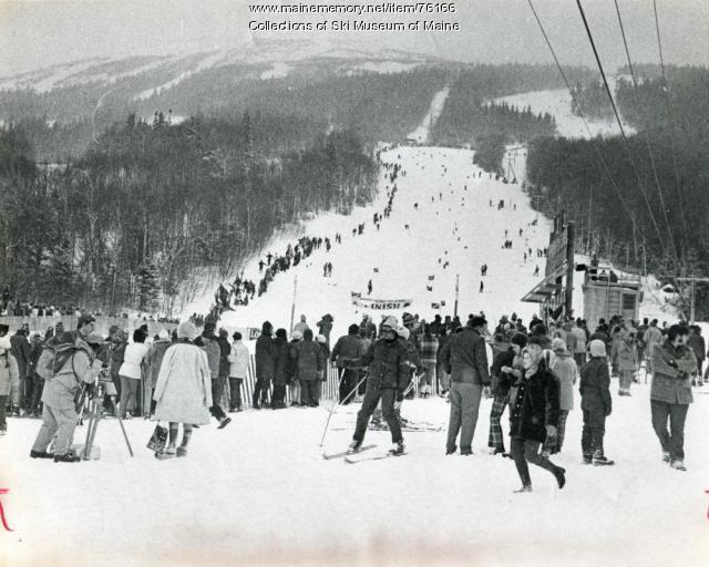Giant Slalom Course, Sugarloaf, 1971