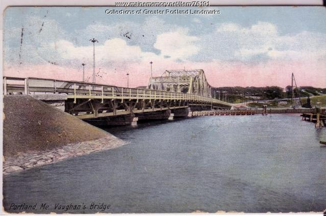 Vaughan's Bridge, Portland, ca. 1910