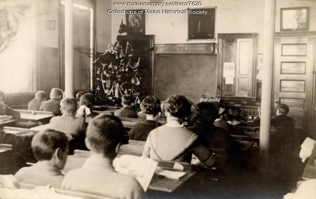 Christmas, Stonington, ca. 1900