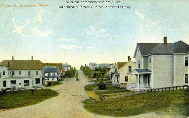 Main Street, Limestone, ca. 1918