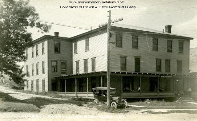 Kimball Hotel, Limestone, ca. 1913