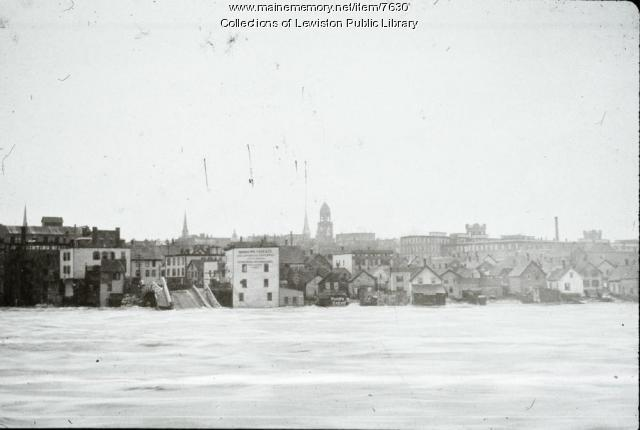 Flood of 1896, Lewiston
