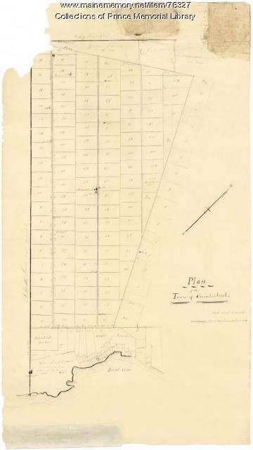Plan of the Town of Cumberland, ca. 1710