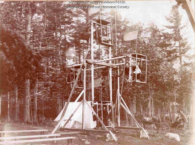 Ferris wheel, Stetson,  ca. 1897