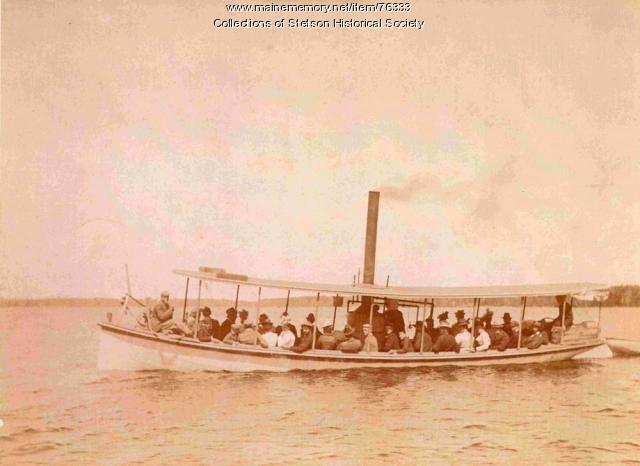 Steamboat 'Ruth Elliott,' Pleasant Lake, 1918