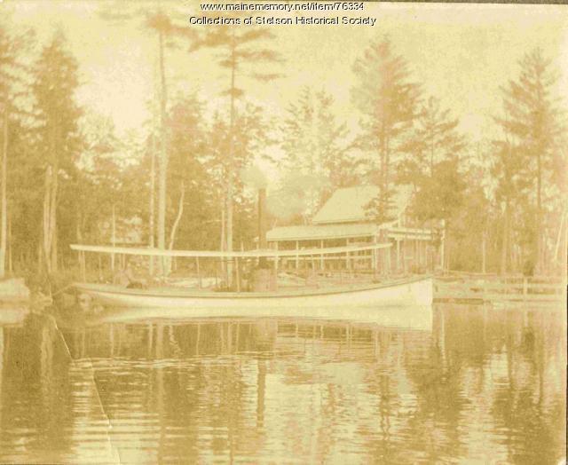 Steamboat, Pleasant Lake, ca. 1918