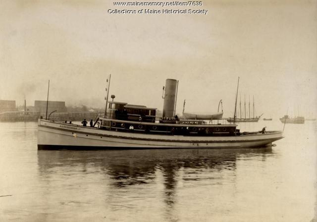 'Pejepscot' towboat, Portland, ca. 1900