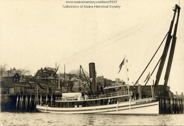 Towboat Orion, Portland, ca. 1900