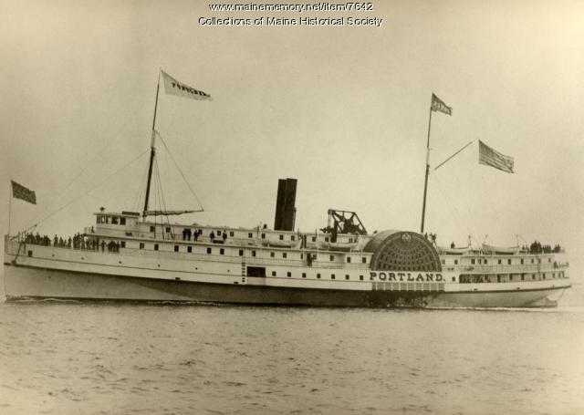 Portland ferry, ca. 1900