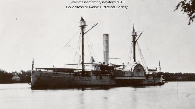 USS Agawam, July 1864