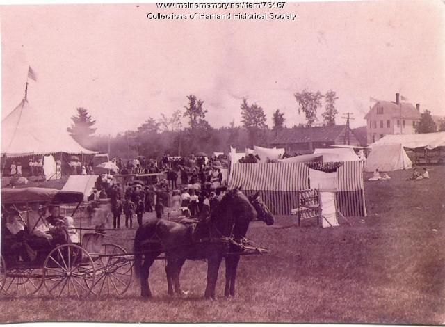 East Somerset Agricultural Society fair, Hartland, ca. 1890