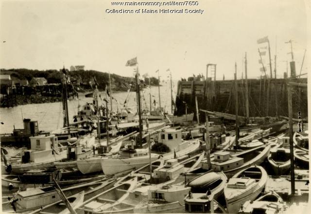 Herring fishing fleet of Quoddy