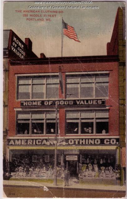 American Clothing Co., Portland