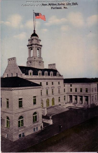 New City Hall, Portland, ca. 1912