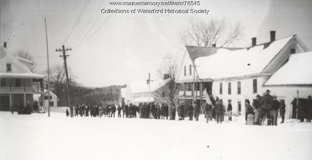 Winter Carnival at North Waterford, ca. 1926