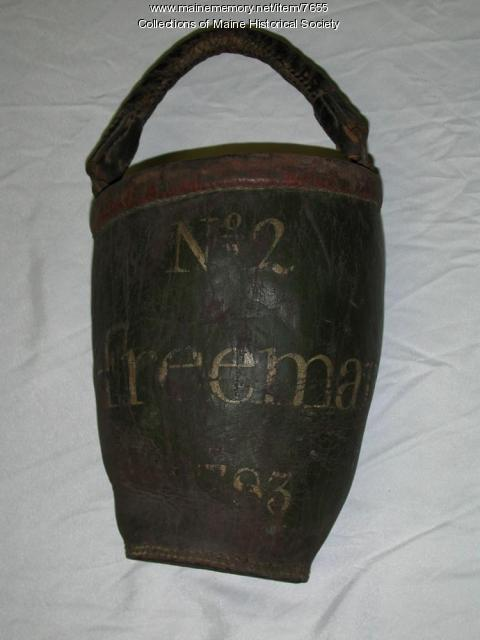 Freeman fire bucket