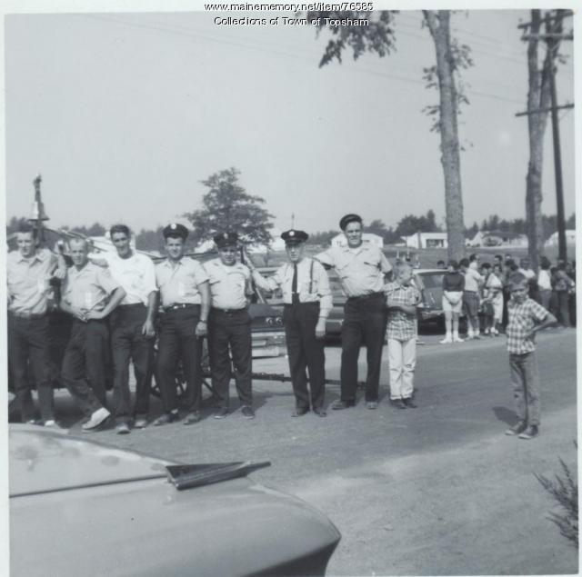 Crew of the Androscoggin No. 2, Old Town, 1965