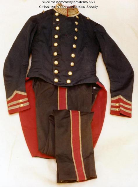 Portland Rifle Corps uniform, 1854