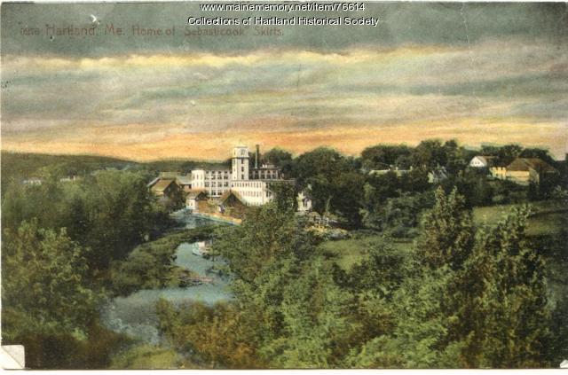 Linn Woolen Mill, 1908