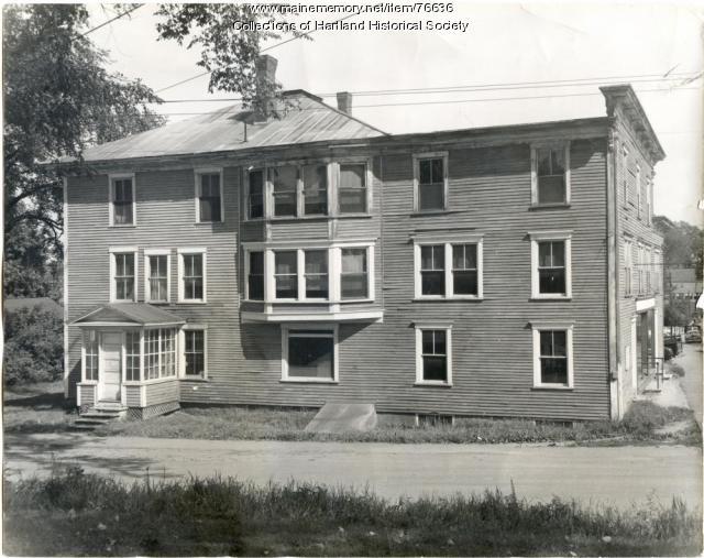East side of the Park House, Hartland, ca. 1955