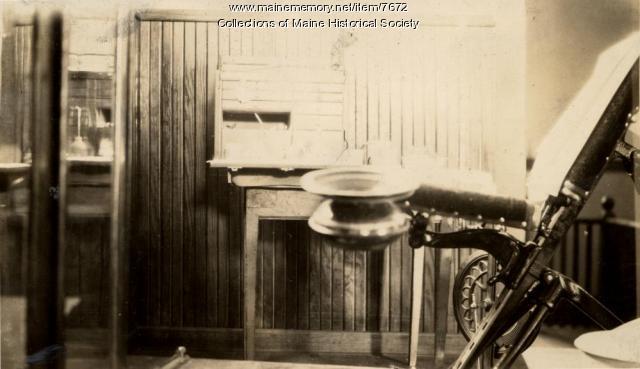 Mobile dental clinic equipment, Cumberland County, Maine, ca. 1925