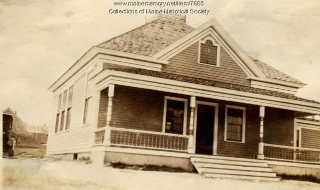 East Raymond school, Raymond, ca. 1925