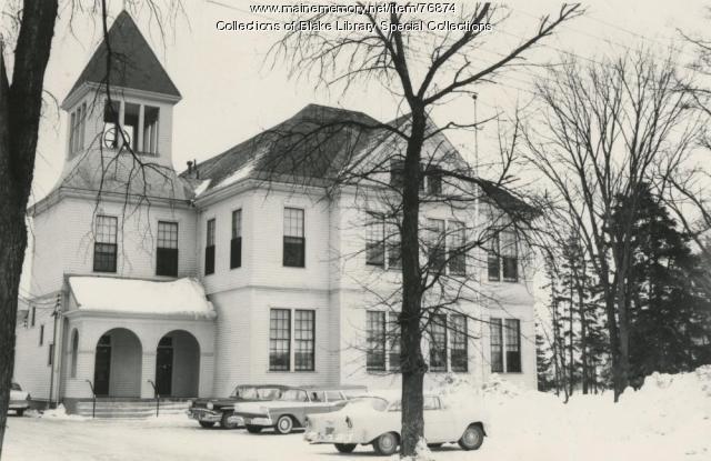 Cyr Hall, Madawaska Training School, Fort Kent, 1955