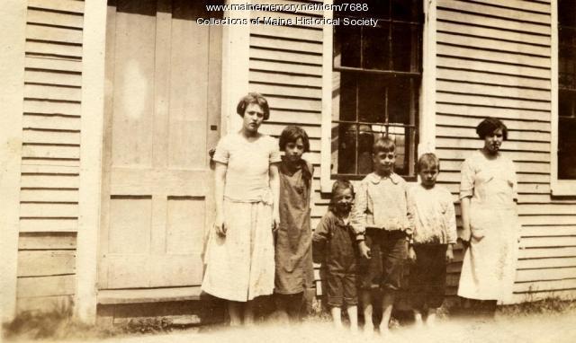 Mountain school, Raymond, ca. 1925