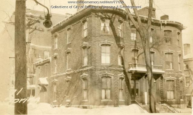 69-71 Spring Street, Portland, 1924